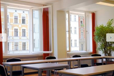 One of 40 classrooms on campus - GLS Sprachenzentrum - German Language School Berlin - Берлин - Германия