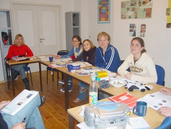 Class room in Berlin - BWS Germanlingua - Берлин, Мюнхен - Германия